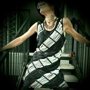 Cathaya Sleeveless GoGo Mini Dress